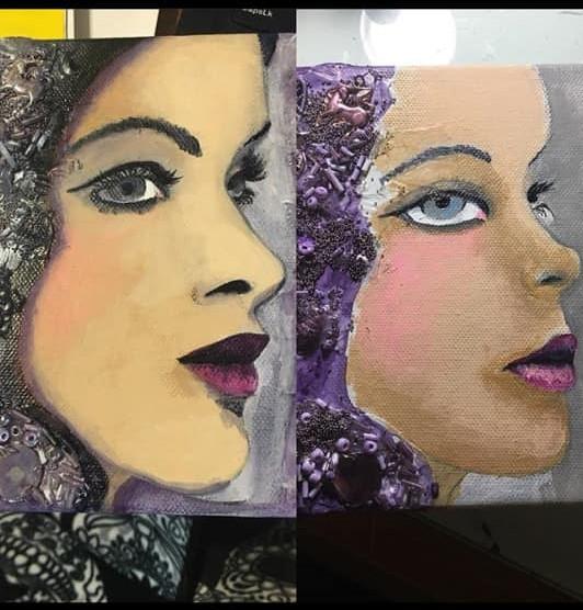 Royal Face Painting