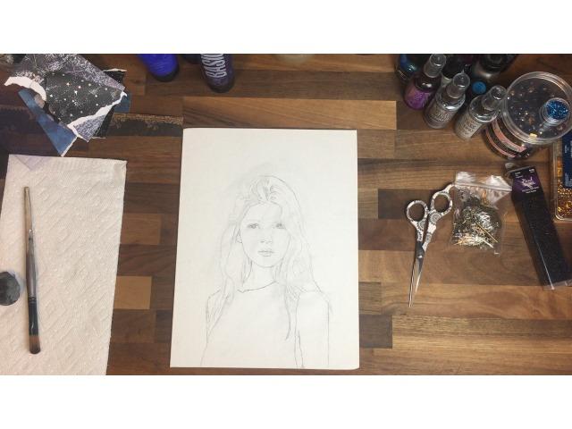 art tutorial Pencil drawing