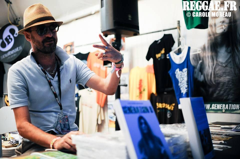 Alexandre Grondeau au Reggae Sun SKA 2013