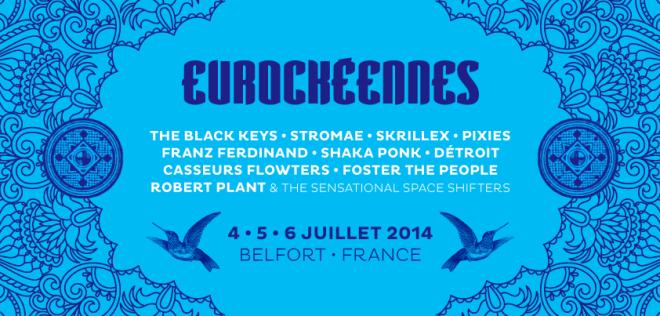 Eurocks 2014, les premiers noms