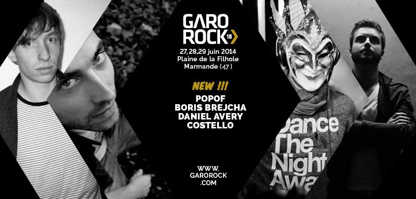 4 nouveaux noms electro pour le Garorock 2014 - Marmande4 nouveaux noms electro pour le Garorock 2014 - Marmande