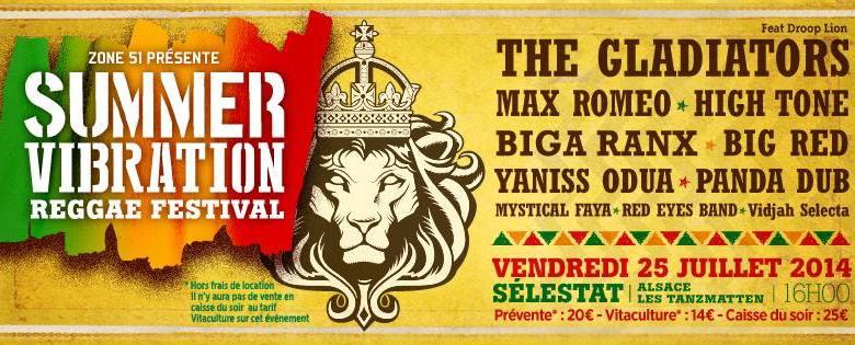 summer vibration reggae festival - le nouveau festival Reggae de Selestat