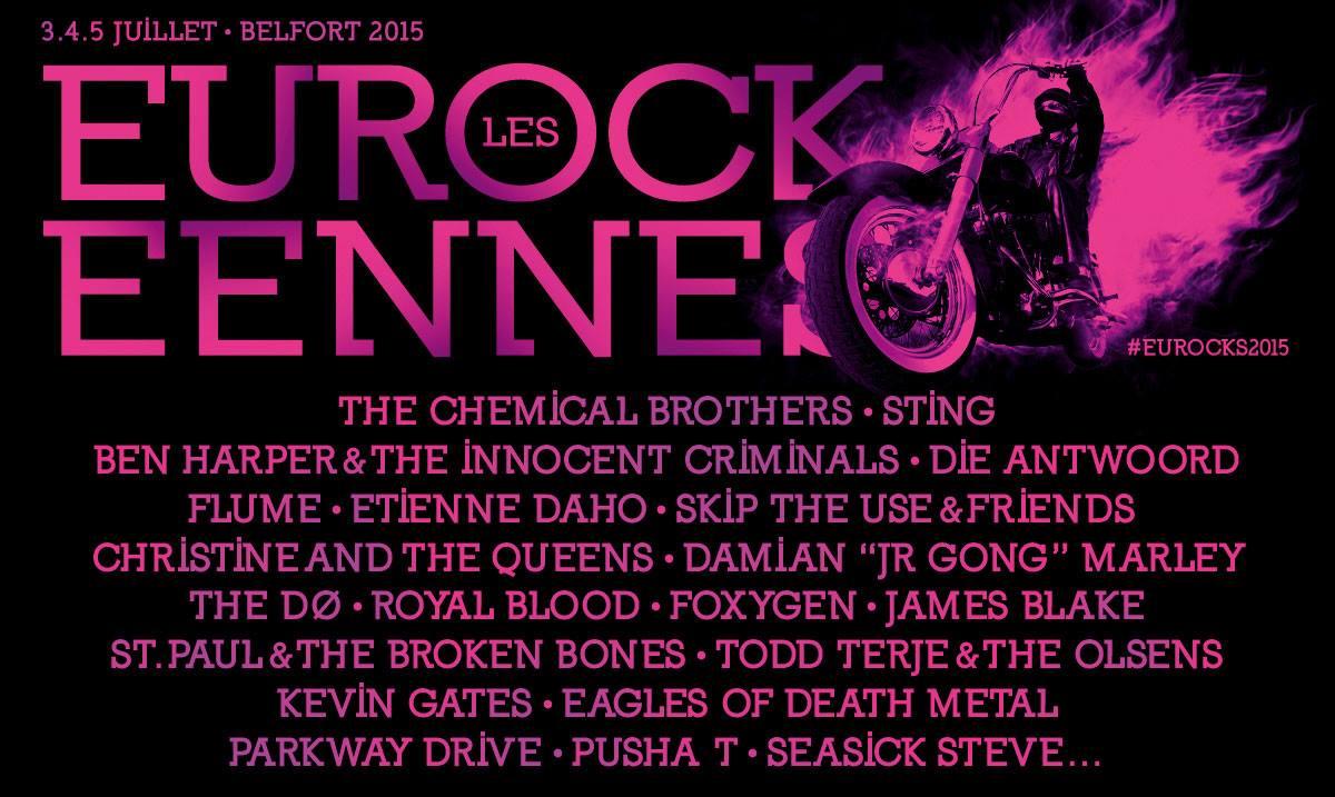 eurocks 2015 - premiers noms