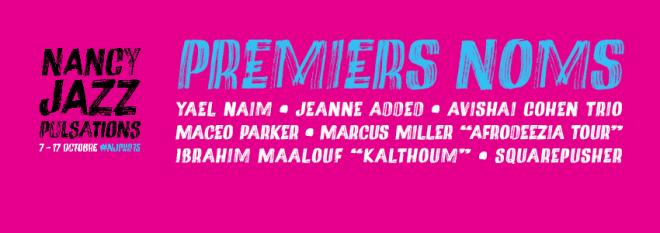 NJP 2015 - Les premiers noms