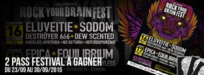 rock your brain festival concours