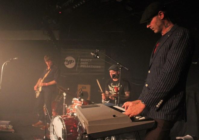 Le groupe YVY avec King Automatic à l'orgue