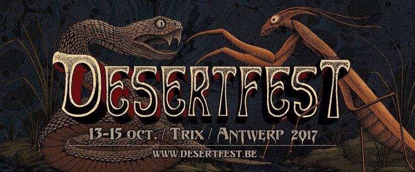 DesertFest Belgium 2017 : Une affiche et 4 noms