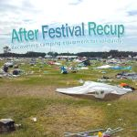Découverte : After Festival RECUP, l'association qui récupère les tentes oubliées des campings de festival