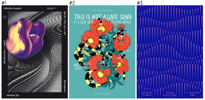 Topaff : Le classement des 100 plus belles affiches de Festivals français de 2018