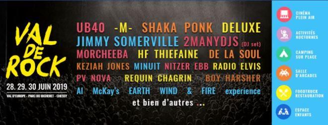 le festival VAL DE ROCK n'aura pas lieu.