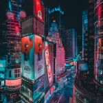 Colors of Times Square