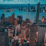 Looking West of Lower Manhattan