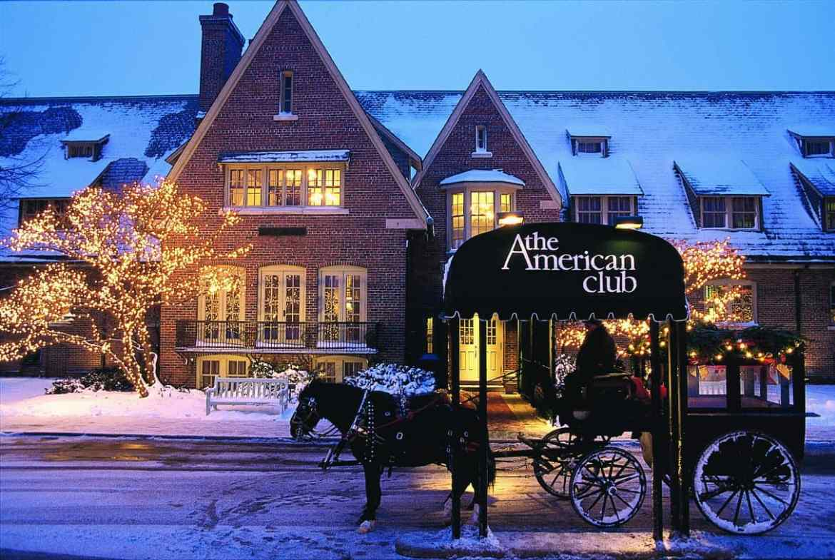 The American Club, Kohler Chicago Blogger|Travel Blogger|Quiet Travel|Anxious Traveler