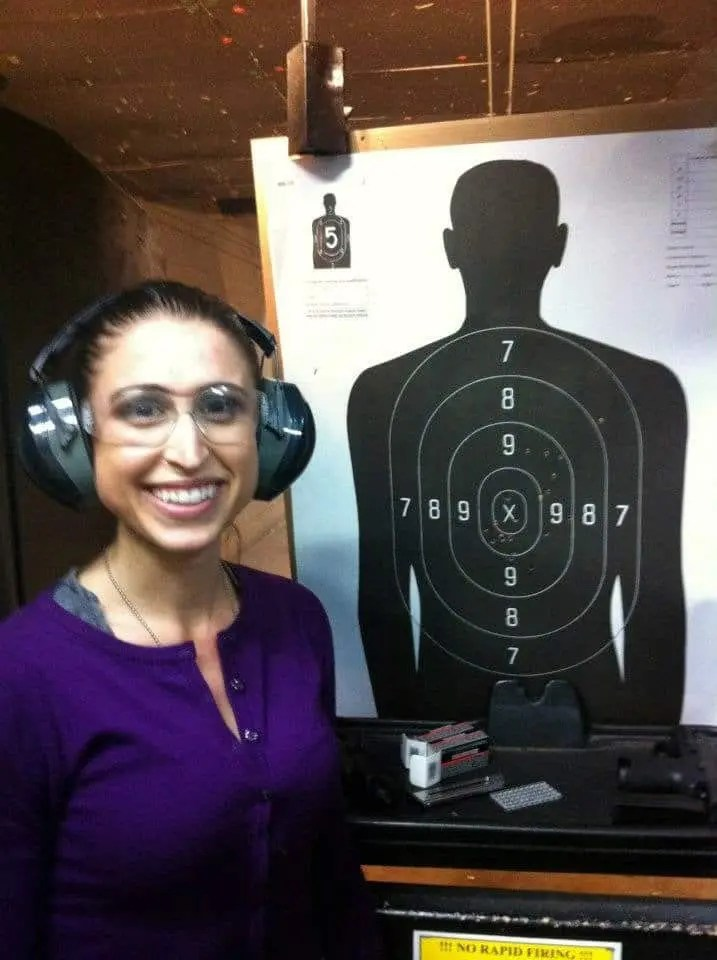 My target at Larry's Pawn and Pistol, Huntsville, Alabama