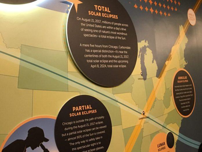 August 21, 2017 Solar Eclipse Path in the U.S. at the Adler Planetarium