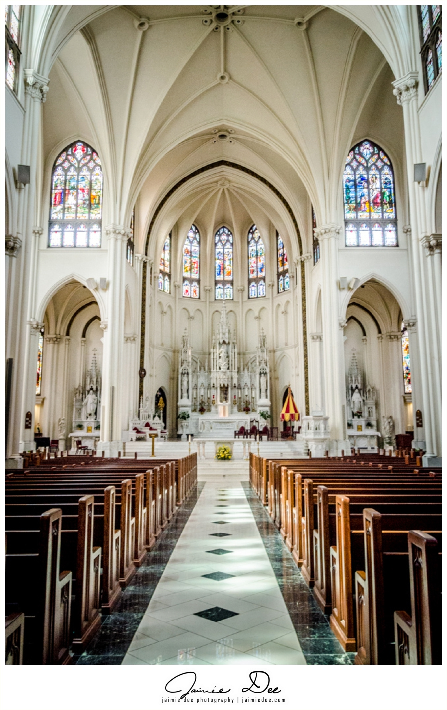 Denver Wedding Venues  Cathedral Basilica of the