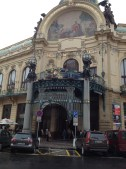 The Municipal House in Prague serves as a concert hall and meeting place.