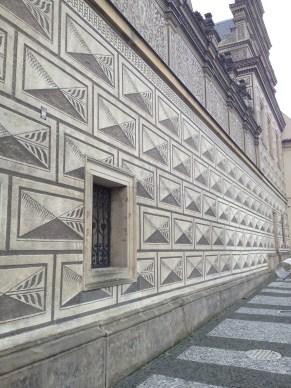 Prague: home of strange, beautiful architecture.