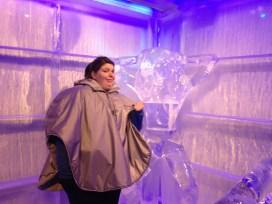 The ice sculptures were a bit weird.