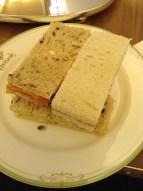 Four delicious sandwiches.