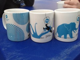 The adorable cups.