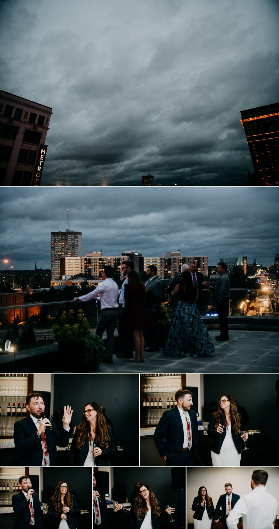 Rainy Day Wedding Photos in St Louis