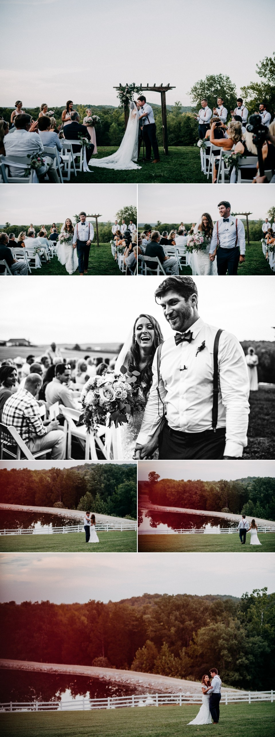 Relaxed Chaumette Winery Wedding