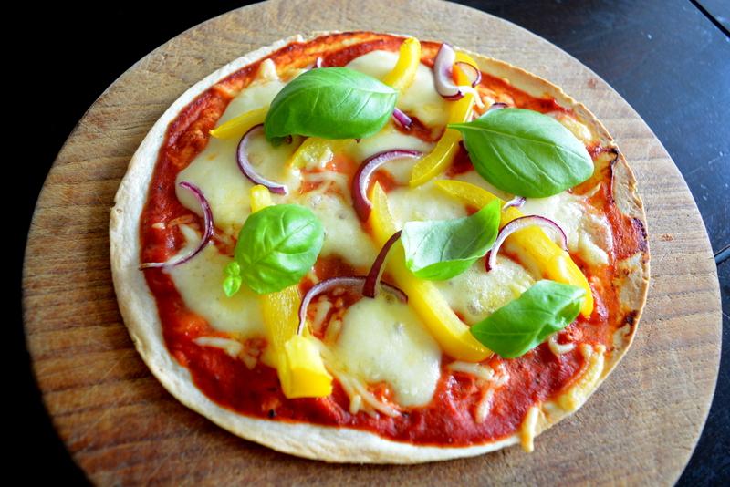 Wrap Pizza met Mozarella