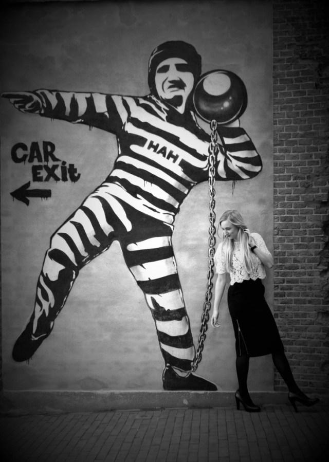 Jaimyskitchen & Arresthuis Graffiti