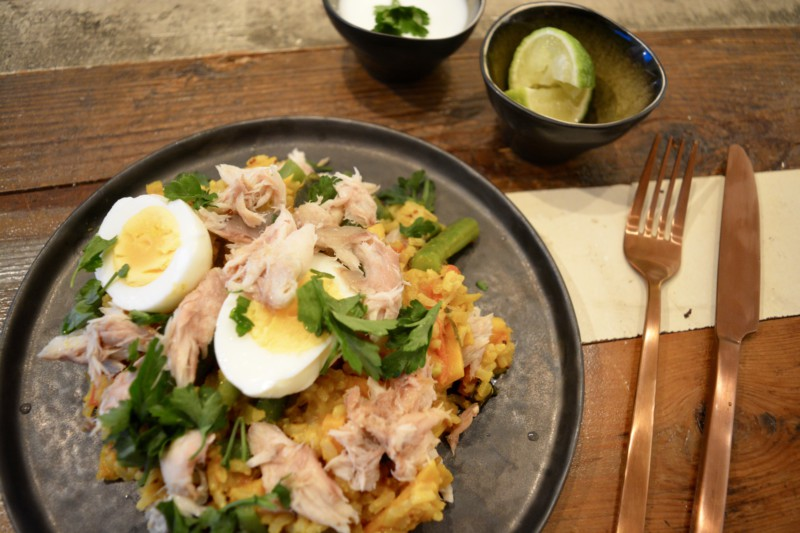 Kedgeree Makreel