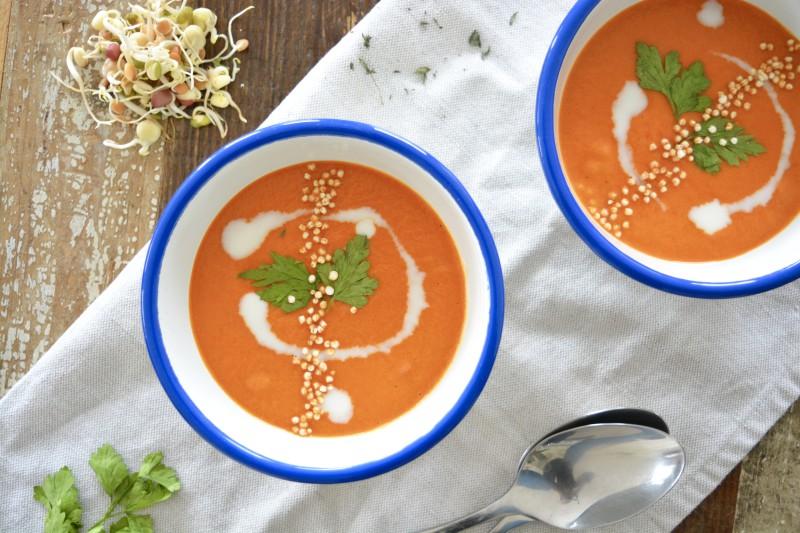 Alpro Paprika Pastinaak soep