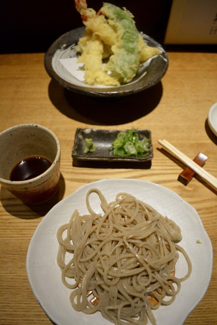 Soba Noodles Cold