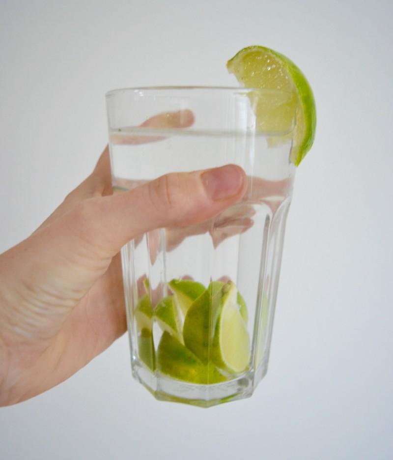 Water met limoen