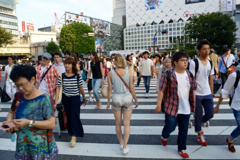 Tokyo Reisverslag Shibuya Crossing