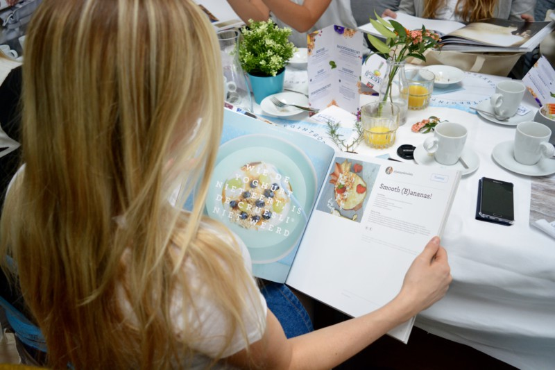 Boeklancering Ontbijtboek Quaker
