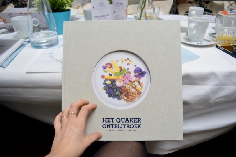 Boeklancering Quaker Ontbijtboek