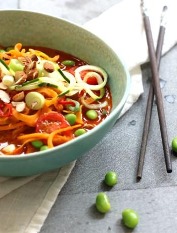 currysoep Veggie Noodles www.jaimyskitchen.nl