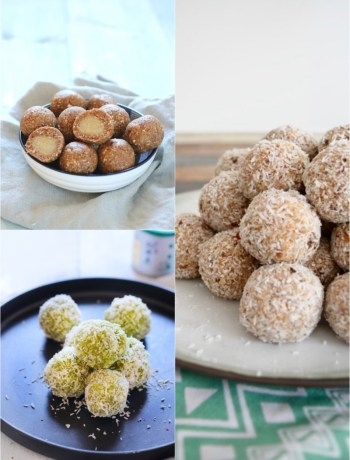 Bliss Balls collage