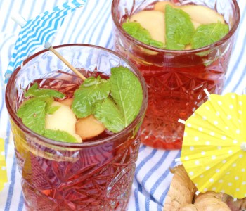 mocktail ginger ale grenadine 2