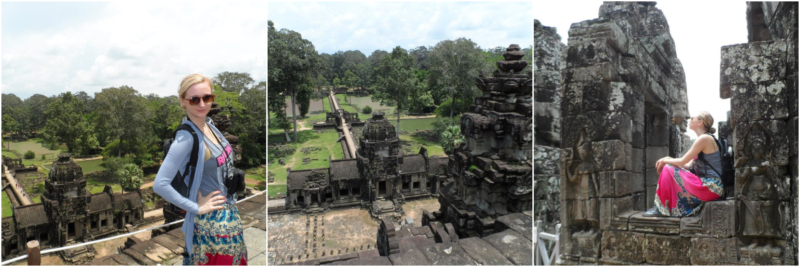 Cambodja Angkor Thom, Bayon www.jaimyskitchen.nl
