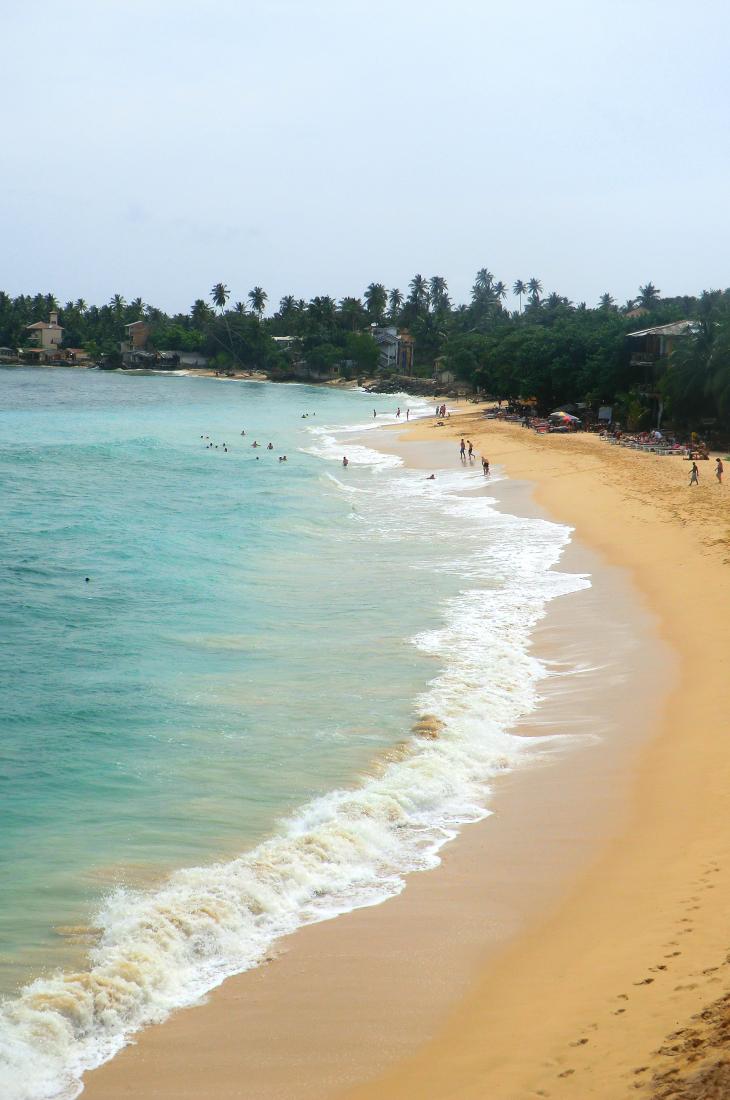 Sri Lanka unawatuna strand www.jaimyskitchen.nl