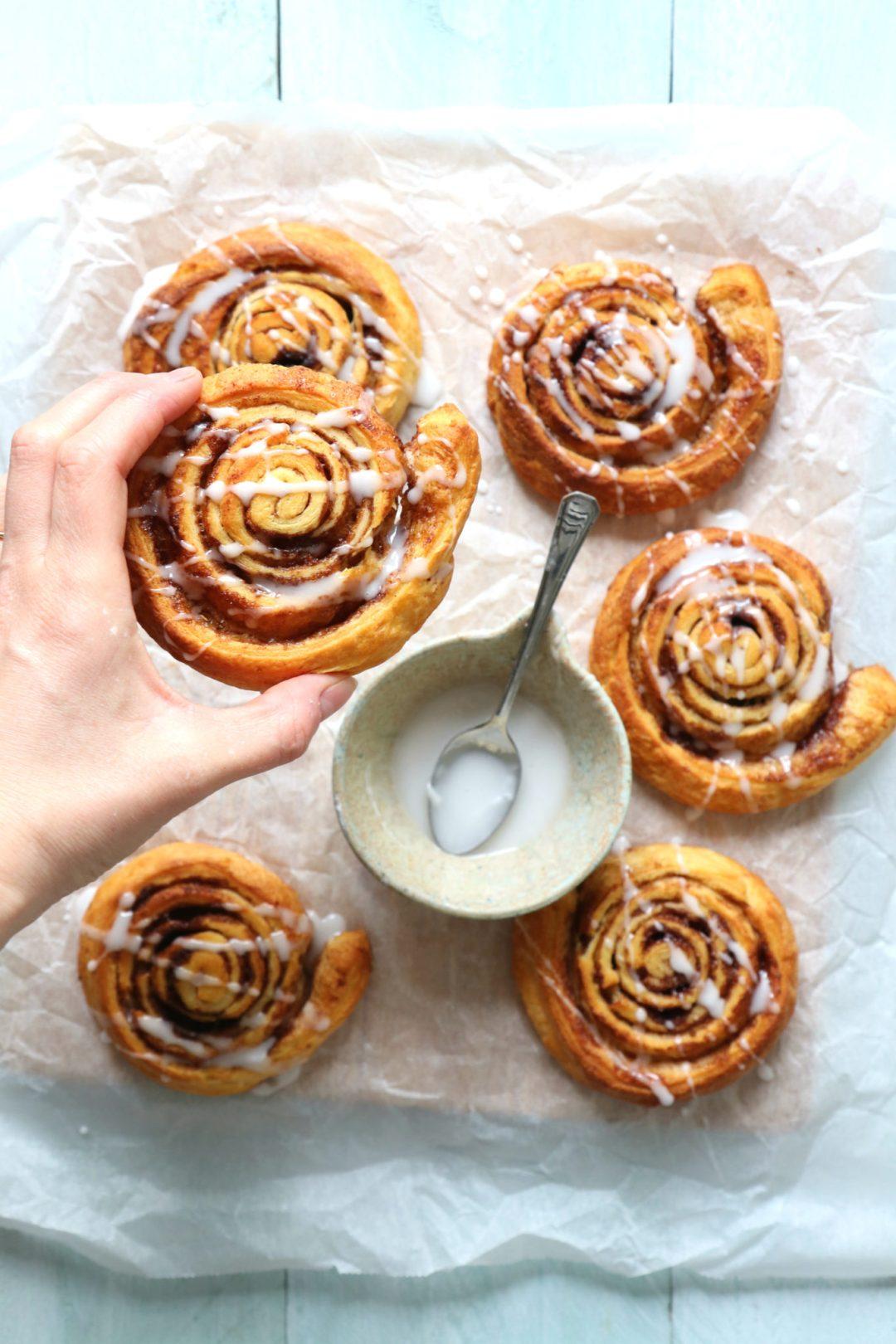 Recept cinnamon rolls - kaneelbroodjes www.jaimyskitchen.nl