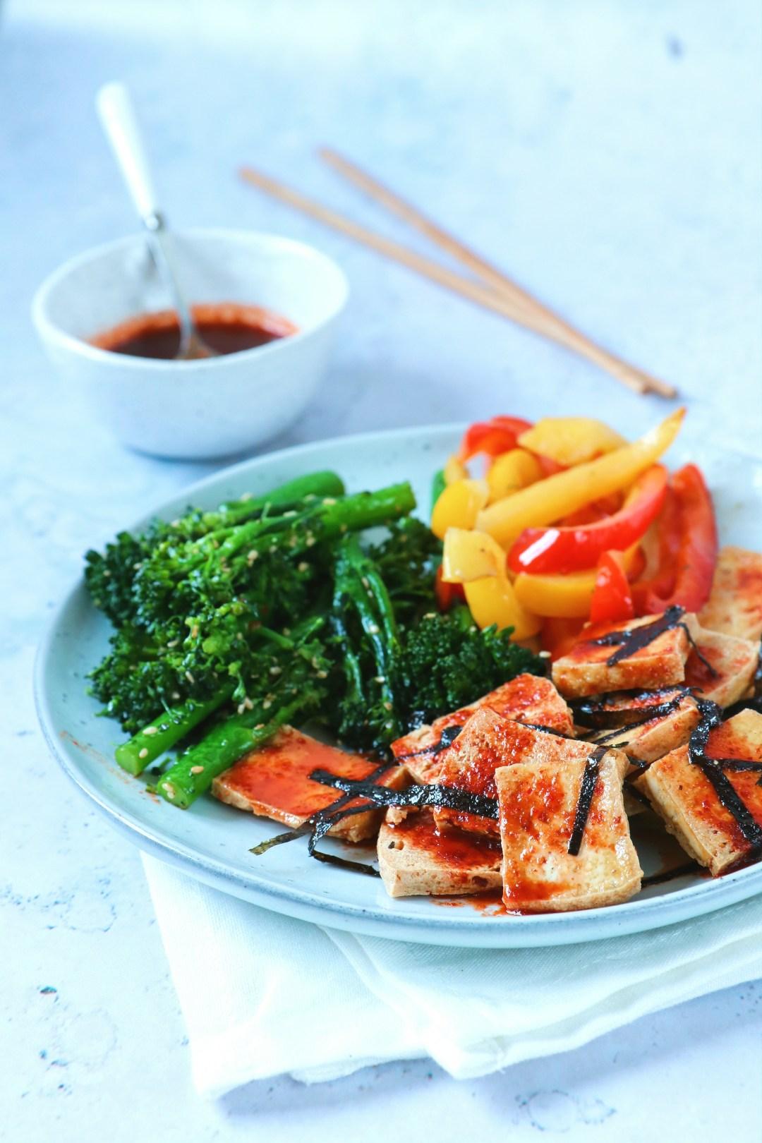 recept tofu met bimi www.jaimyskitchen.nl