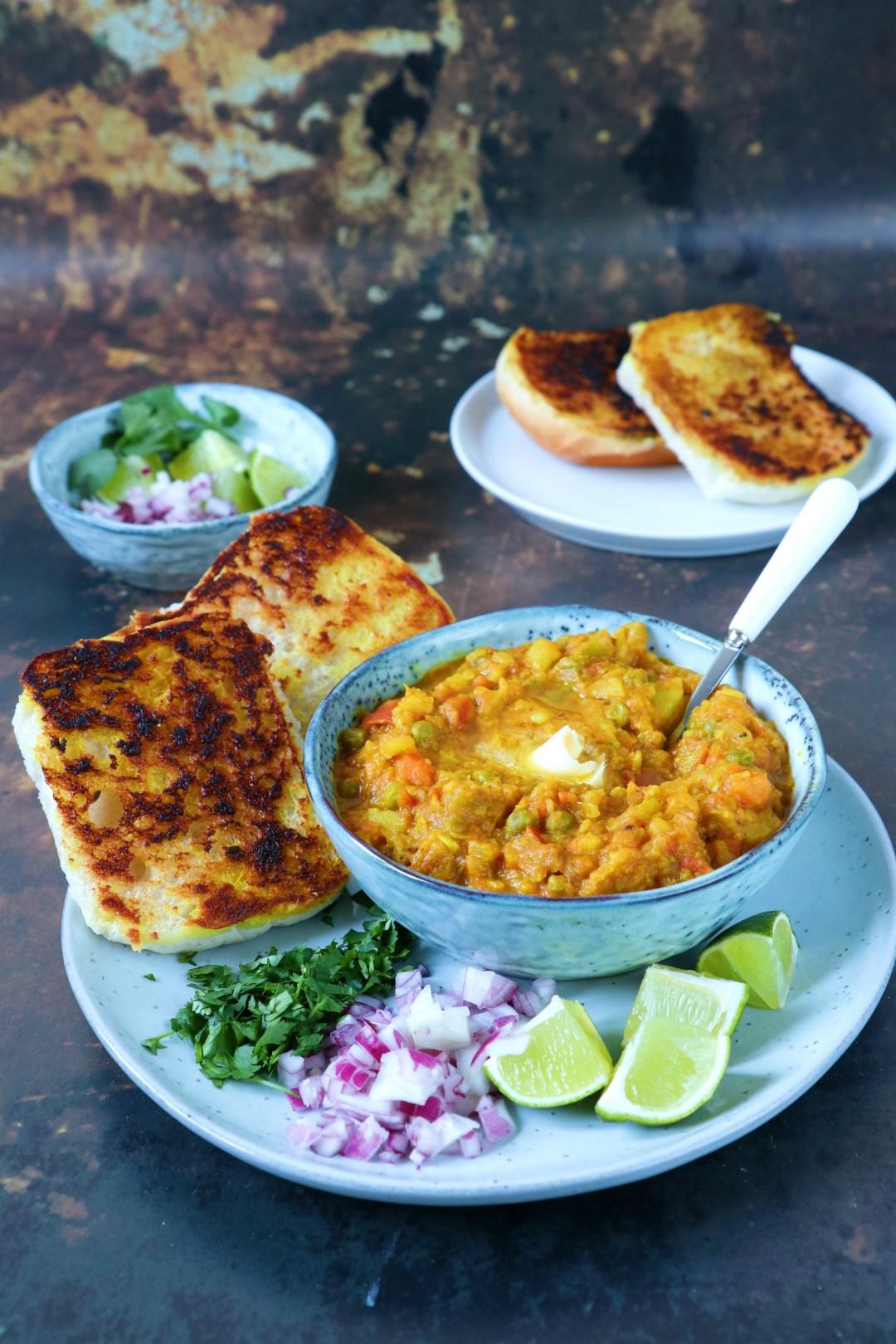recept Indiase pav baji curry www.jaimyskitchen.nl