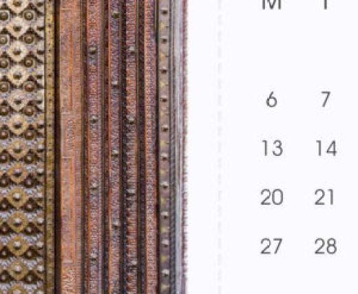 Perforated Line - 2017 Desk Calendar by Jai Pandya