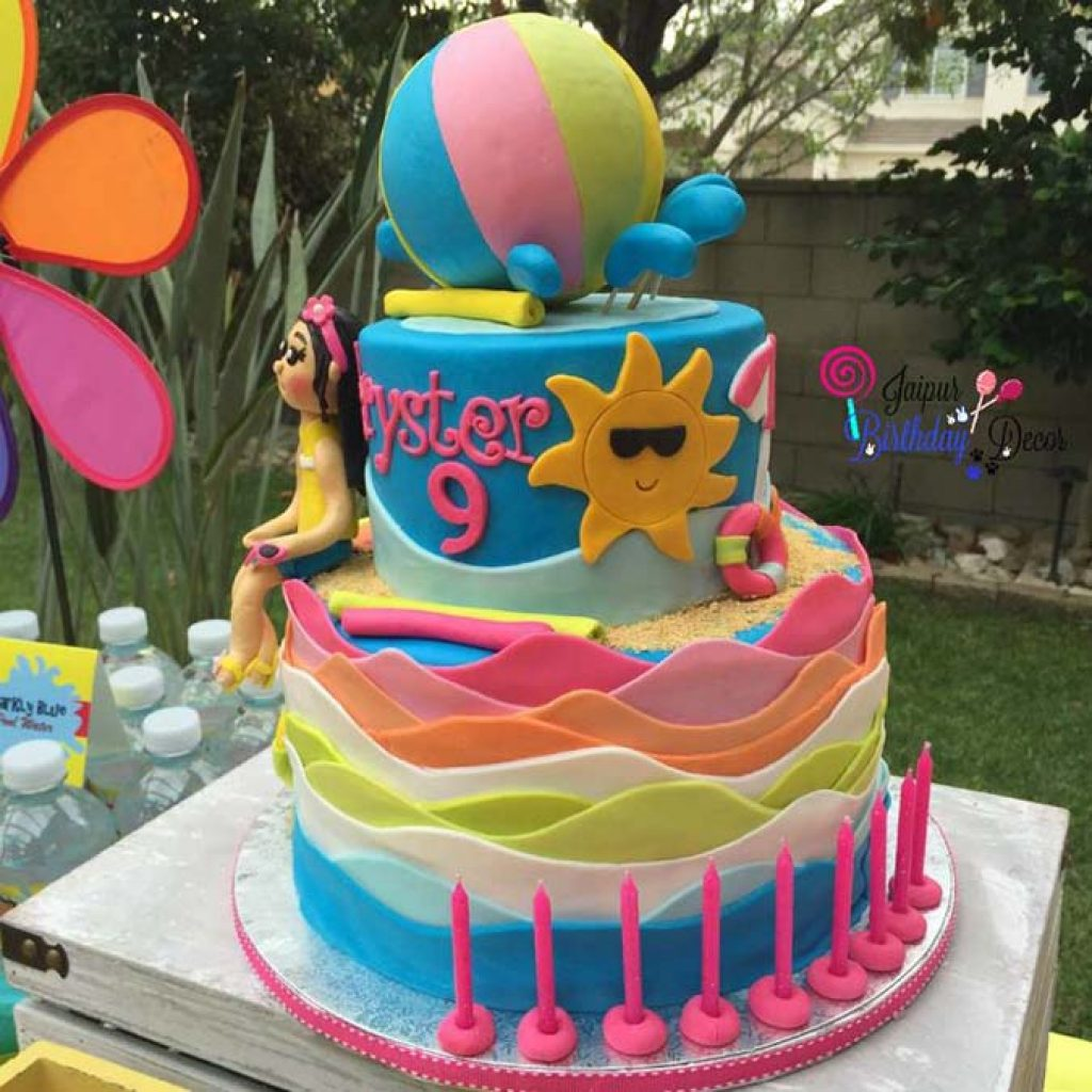 Pool Party Themes Decoration Jaipur Birthday Decor