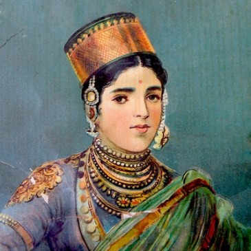 Peinture de princesse indienne