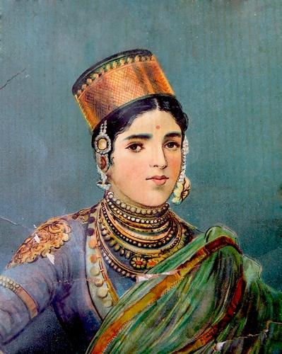 tableau femme indienne