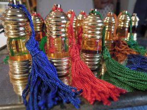 Flacons de parfums indiens