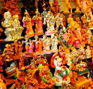 Statuettes hindouistes